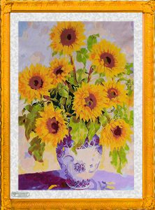 Girasoli cinesi per Diamond Painting Italia