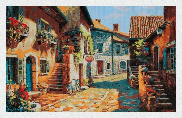 Borgo Toscano per Diamond Painting Italia