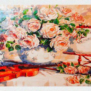 Fiori Musica e...dolcezza per Diamond Painting Italia