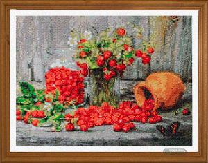 Fiori e fragole piccoli per Diamond Painting Italia