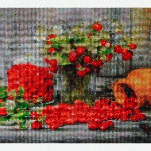 La raccolta delle fragole e dei fiori per Diamond Painting Italia
