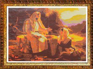 Gesù Cristo e la Samaritana per Diamond Painting Italia