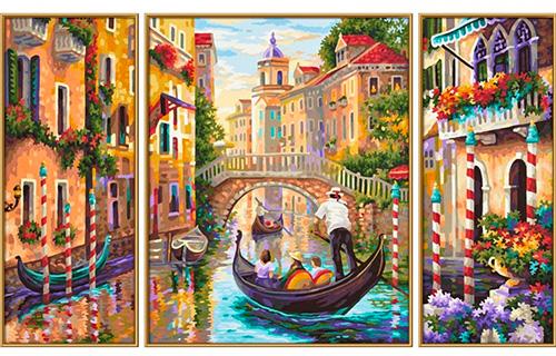 Il trittico per Diamond Painting Italia