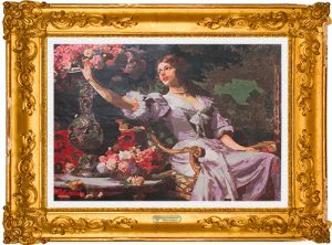 La principessa delle rose per Diamond Painting Italia 2