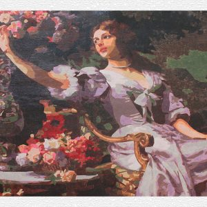 La principessa delle Rose per Diamond Painting Italia