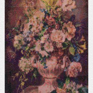 Anfora dei fiori di maggio per Diamond Painting Italia
