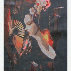 La danza della Geisha per Diamond Painting Italia