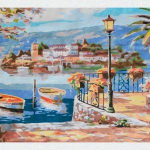 Terrazza sulle Isole Borromee per Diamond Painting Italia