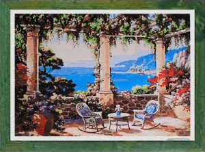 Un'estate in costiera per Diamond Painting Italia